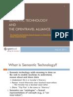 OpenTravel Semantic Search Presentation March 2011