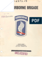 173d Airborne AAR 14 September 1971