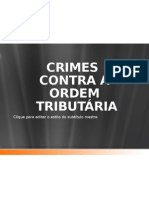 Crimes contra a Ordem Tributário
