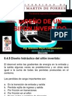 DISEÑO DE UN SIFON INVERTIDO