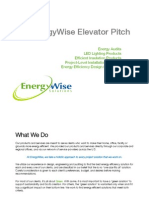 Energywise Solutions Elevator Pitch