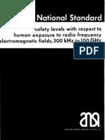 Ansi RF Exposure Limits