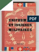 Uniformes Et Insignes Militaires