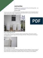 Rain Barrel Construction