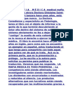LA MAFIA MEDICA LIBRO TRADUCIDO