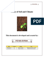 Study of Soil and Climate