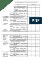 Formato Para Identificar La Relacion Entre Competencias Genericas y Asignaturas