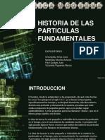 Historia de las particulas fundamentales