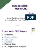 Dasar Operasi CNC