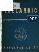 TM 30-313 Icelandic Language Guide 1943