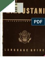 TM 30-327 Hindustani (Hindi) Language Guide 1944