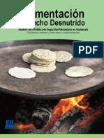 Alimentacion en Guatemala Derecho Desnutrido 2006