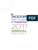 ACCOR Annual Report 2011
