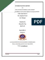 Federal bank report