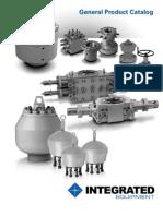 Integrated Equipment General Catalog Rev.04