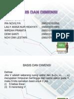 Basis Dan Dimensi2