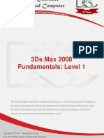3D Max L1 Course Outline
