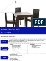 Market Research India - Branded Furniture Market in India 2009