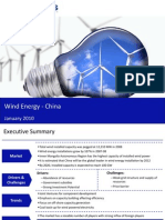 Market Research China - Wind Energy Market in China 2009