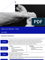 Market Research India - Baby Care Market in India 2009