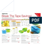 Break the Tape Savings!