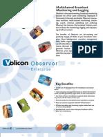 Volicon Observer Enterprise Brochure