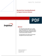 Bluetooth Nxt- Extending Bluetooth to Support Extensive Distance- Impetus White Paper