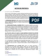 APDHE Guardia Civil Comunicado crisis