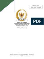 Penutupan Masa Sidang 4 2011-2012