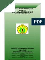 Program Praktik Bahasa Indonesia
