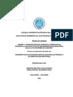 DISEÑO  DE UN MODULO ORIENTADO LABVIEW