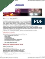 Aplicaciones de los LEDs II « Uso de Leds en la iluminación