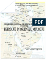 Petrolul in Orientul Mijlociu