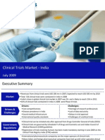 Market Research India - Clinical Trials Market in India 2009