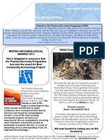 TDP Newsletter Summer 2012