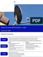 Market Research India - Direct to Home (DTH) Market in India 2009