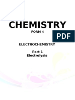 electrochemistry form4