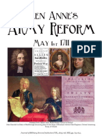 Queen Anne's Army Reform May 1st 1711