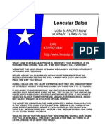 Catalog Lonestar Balsa