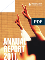 2011 Annual Report Transparency International