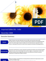 Market Research India - Imported Edible Oils Market in India 2009