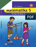Kelas v SD Matematika RJ Soenarjo