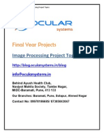 Image Processing IEEE Projects Ocularsystems.in