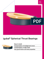 igubal Spherical Thrust Bearings