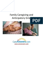 Family Caregiving and Anticipatory Grief