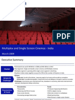 Market Research India - Multiplex and Single Screen Cinemas Market in India 2009
