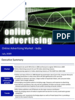 Market Research India - Online Advertising Market in India 2009