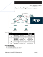 Configuration Frame Relay de Base Avec Mappages Statiques