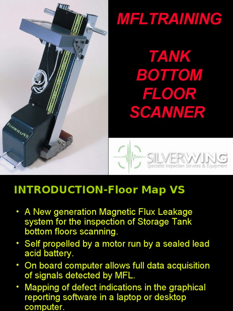 Mfl Tank Floor Scanning 2009 Image Scanner Equipment