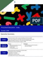 Market Research India - Preschool Education Market in India 2009